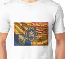 Crown of Scotland over Royal Standard  Unisex T-Shirt