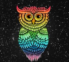 'Owlbert Night Sky' by STUDIO 88 TARANAKI NZ