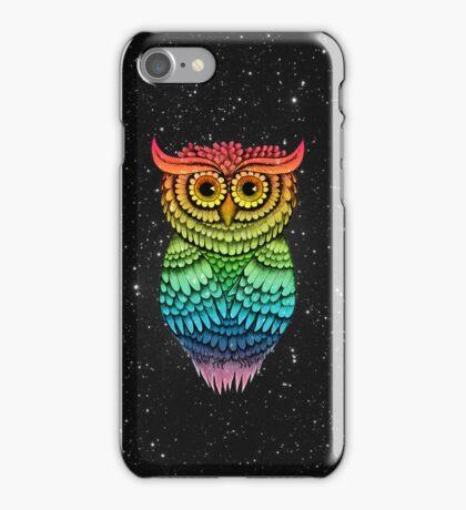 'Owlbert Night Sky' iPhone Case/Skin