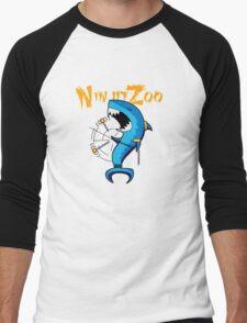 dah dum solo with logo Men's Baseball ¾ T-Shirt