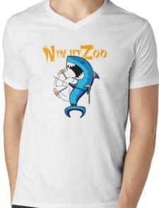 dah dum solo with logo Mens V-Neck T-Shirt