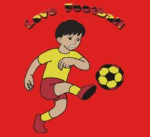 Love football - Kids Clothing+Products Design Kids Tee
