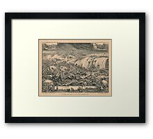 Galveston's Awful Calamity Gulf Tidal Wave September 8th 1900 Framed Print