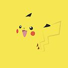 Pikachu iPhone Cover by Harry Martin