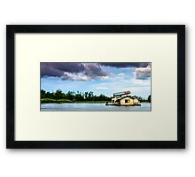 Borneo Just Go With The Flow Framed Print