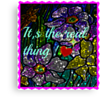 it's the real thing! Canvas Print