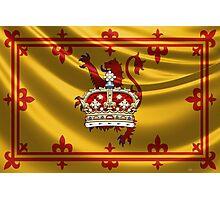 Crown of Scotland over Lion Rampant of Scotland Photographic Print