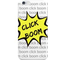click boom-hamilton iPhone Case/Skin