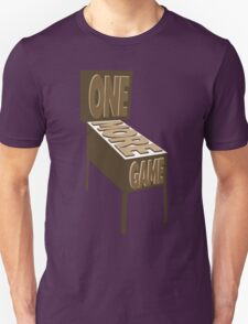 One More Game - Sepia Unisex T-Shirt