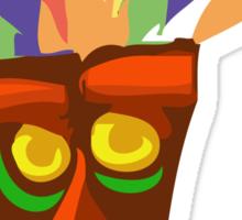 Aku Aku - Crash Bandicoot. Sticker