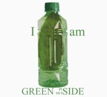 I am Green Inside Outside by PutroGraph