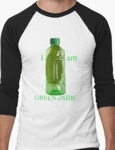 I am Green Inside Outside Men's Baseball ¾ T-Shirt