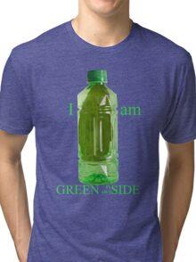I am Green Inside Outside Tri-blend T-Shirt