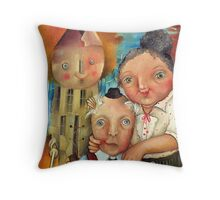 Guardian Of The Hearth Throw Pillow
