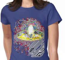 CANDLE ELECTRIC  TEE/BABY GROW/STICKER Womens Fitted T-Shirt