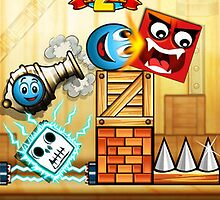 Tiny Ball Vs. Evil Devil 2 Addicting physics game - iPhone by johnmorris8755