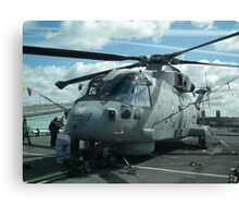 Royal Navy Merlin HM1 Canvas Print