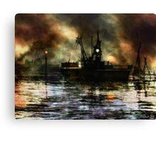 Impression - Sunset Canvas Print