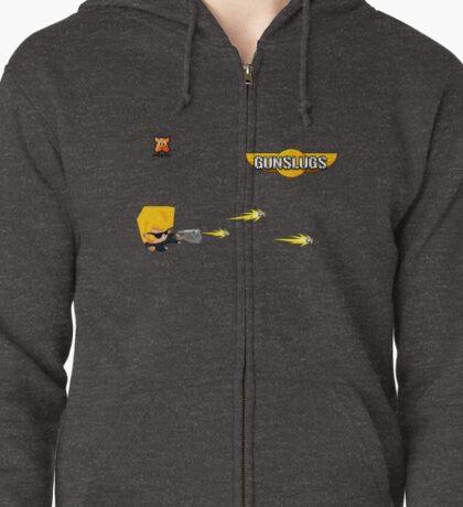 Gunslugs hoodie Zipped Hoodie