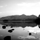 Derwent Water and Catbells by Lou Wilson