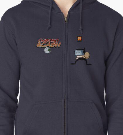 Chrono&Cash Zipped Hoodie