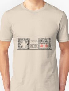 NES controller word cloud T-Shirt