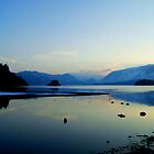 Derwent Water and Borrowdale Valley by Lou Wilson