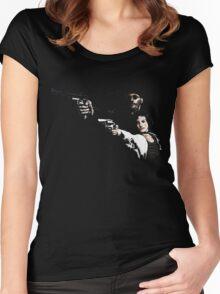 Léon Women's Fitted Scoop T-Shirt
