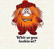 Jock MacNutter - Whit ur you lookin at? Hoodie