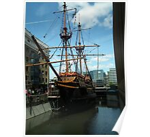 The Golden Hind ( replica ) Poster