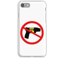 Ban tazer guns iPhone Case/Skin