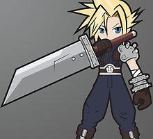 Final Fantasy 7 Cloud by NotSilver