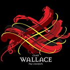 Clan Wallace Tartan Twist by eyemac24