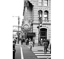 Hard Rock Cafe, Philadelphia Photographic Print