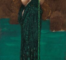 John William Waterhouse - Circe Invidiosa by TilenHrovatic
