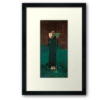 John William Waterhouse - Circe Invidiosa Framed Print