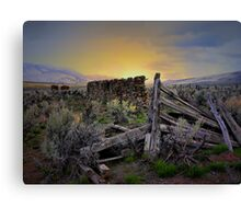 One Life, One Chance Canvas Print