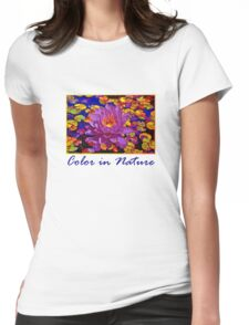 Color in Nature Womens Fitted T-Shirt