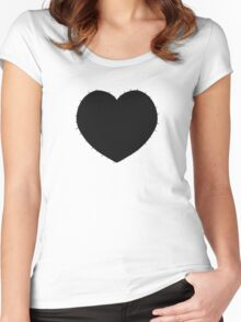 Zacharie's Shirt (Black) Women's Fitted Scoop T-Shirt