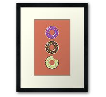 Heaven ( Better Known as Multiple Donuts ) Framed Print