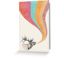 Elk Song Greeting Card