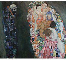 Gustav Klimt - Death and Life Photographic Print