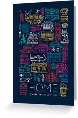Home Card from RedBubble
