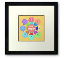 We All Scream for Ice Cream  Framed Print