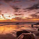 Golden Sunrise by Peter Billiau