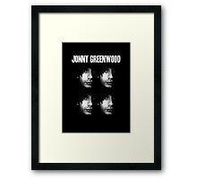 Jonny Greenwood Framed Print