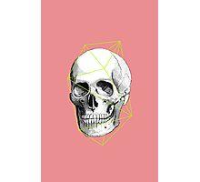 Geometric Skull Photographic Print