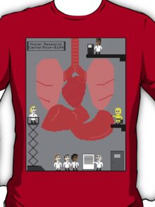 8 Bit human research pixel Tshirt T-Shirt