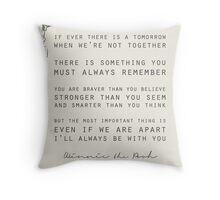 Winnie the Pooh Throw Pillow