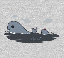 whale - follow me One Piece - Long Sleeve